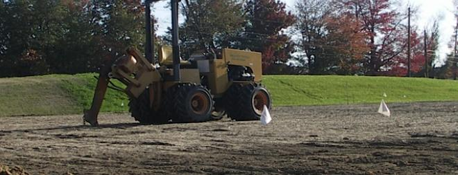 Trenchless plow