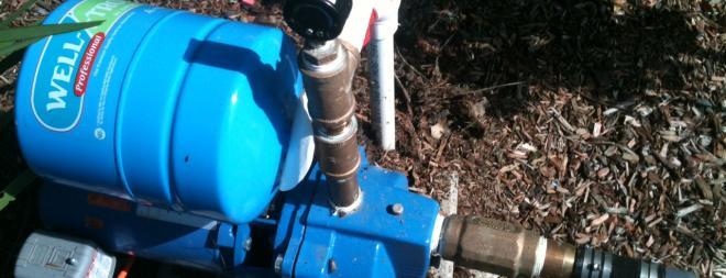 Suction-lift lake pump